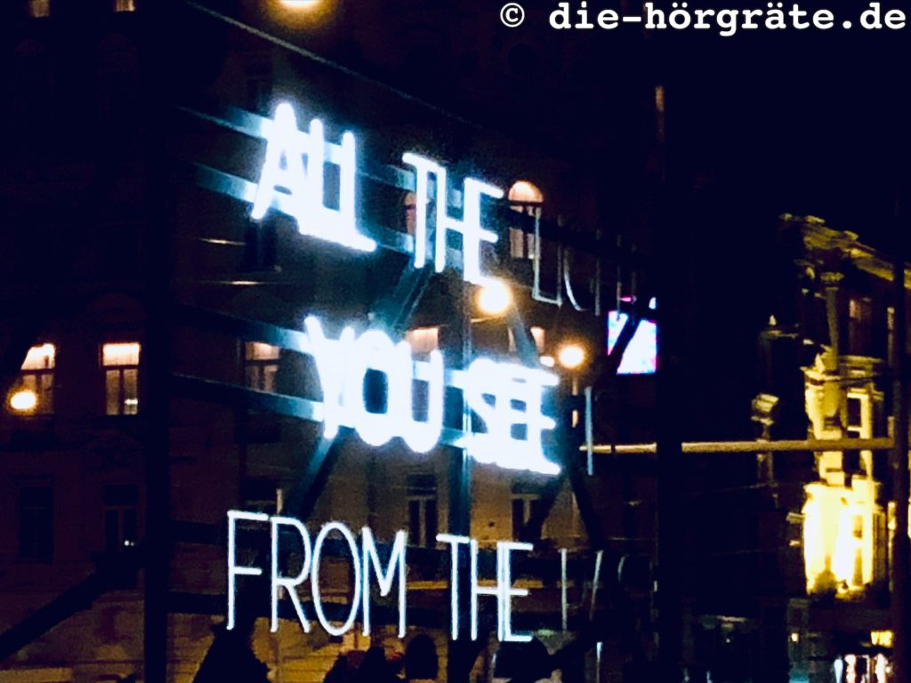 """All the light you see"" von Alicia Eggert"