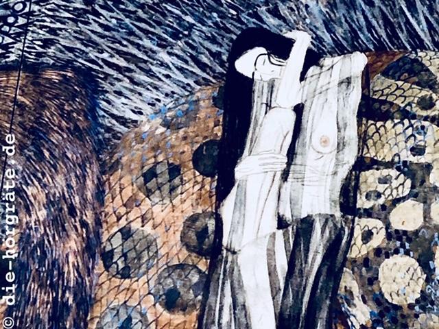 Ausschnitt Beethovenfries, Gustav Klimt