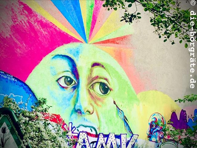 Augen-Graffito Berlin-Kreuzberg