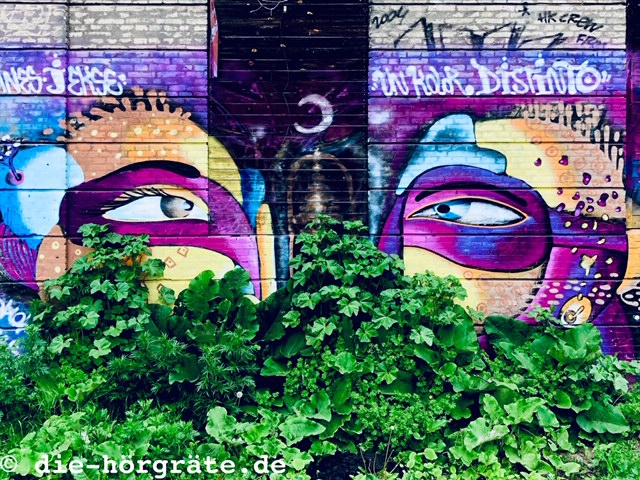 Augen-Graffito Freistadt Christiana