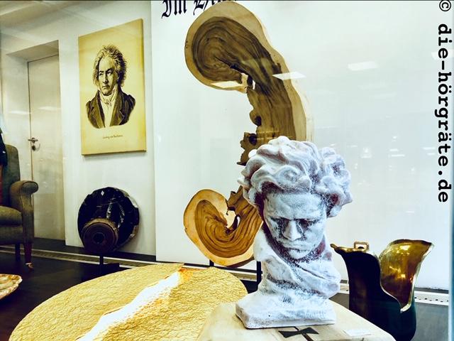 Beethoven-Schaufensterdeko