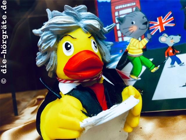 Beethoven als Bade-Ente