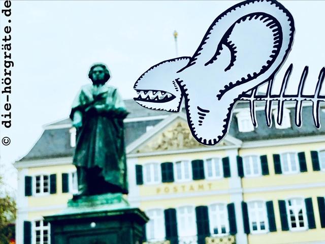 Beethoven-Denkmal und Hörgräte