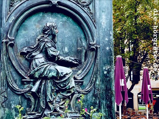 Sockel-Relief Beethoven-Denkmal