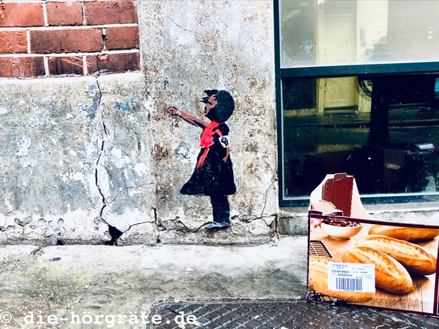 Graffito, Brick Lane in London