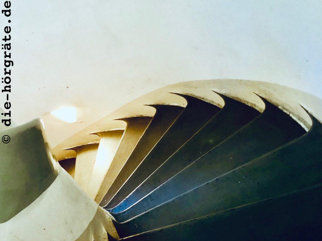 Treppe im Einstein-Turm
