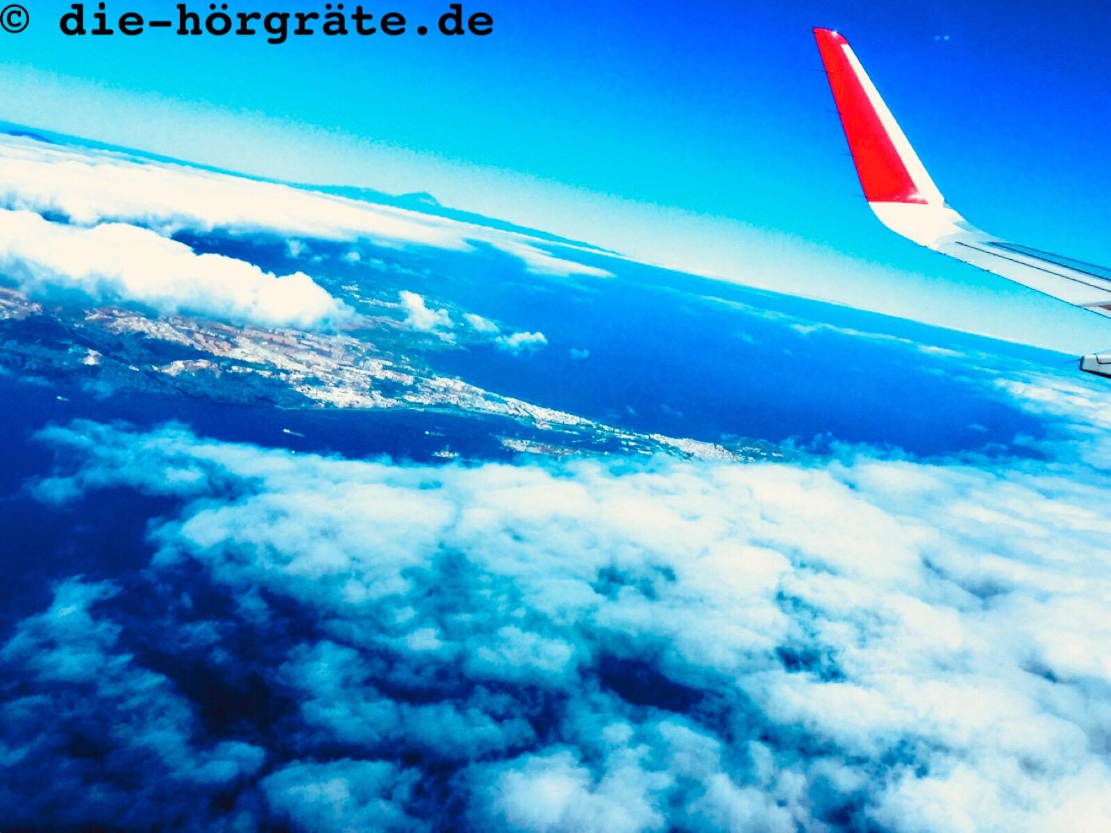Himmel und Tragfläche