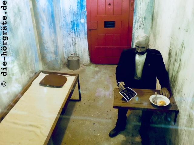 Hauptmanns Gefängniszelle