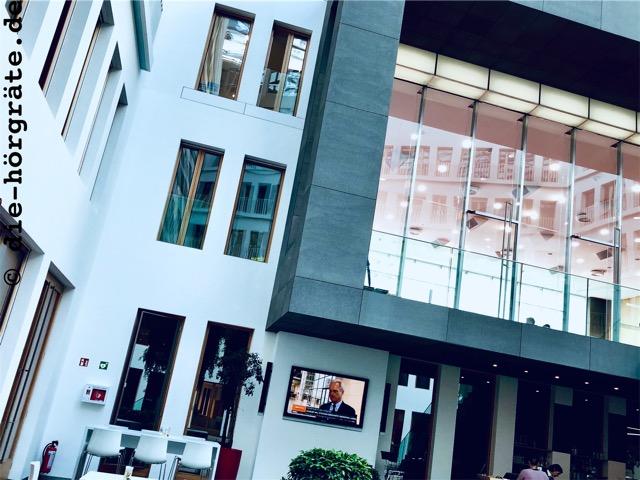 Bundespressekonferenz innen