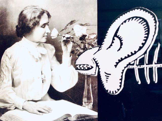 Foto zum Artikel über Helen Keller und das Auswachsen mit eingeschränktem Gehör