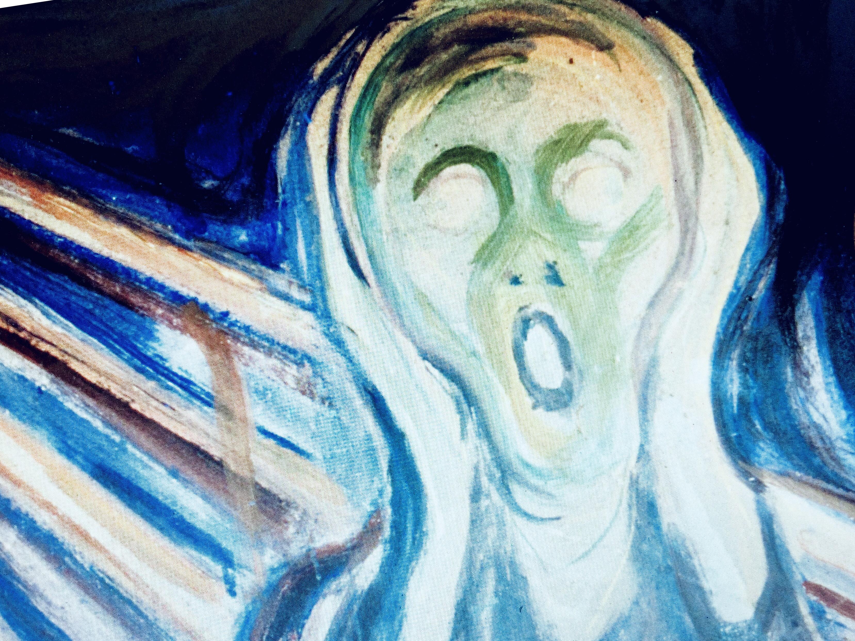 Abbildung zum Beitrag über Munchs Schrei hören