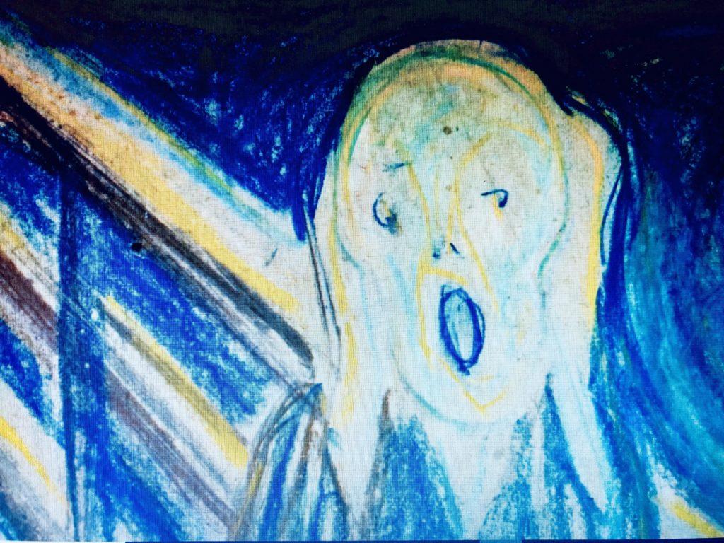 Abbildung zum Beitrag über Munchs Schrei