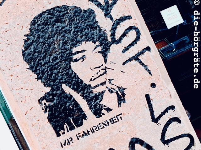 Jimi Hendrix Graffiti