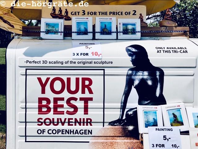 Souvenir-Auto in Kopenhagen