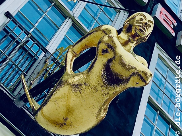 goldene Meerjungfrau