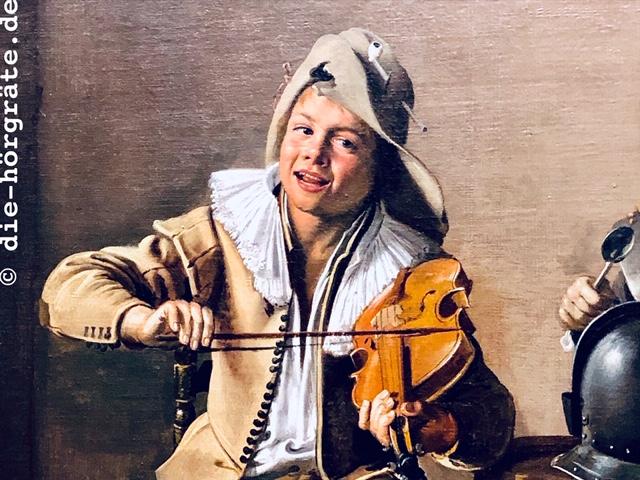 Geigenspieler, National Gallery London