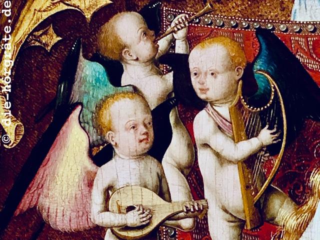 Musizierende Engel aus der National Gallery London