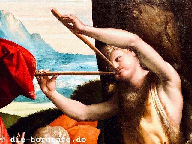 Flötenspieler National Gallery London