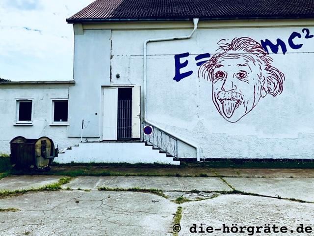 Einsteinwandbild