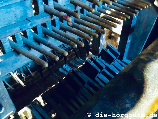 Hebel zum Spielen eines Carillons