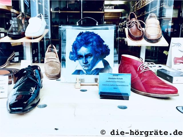 Schaufenster Schuhgeschäft