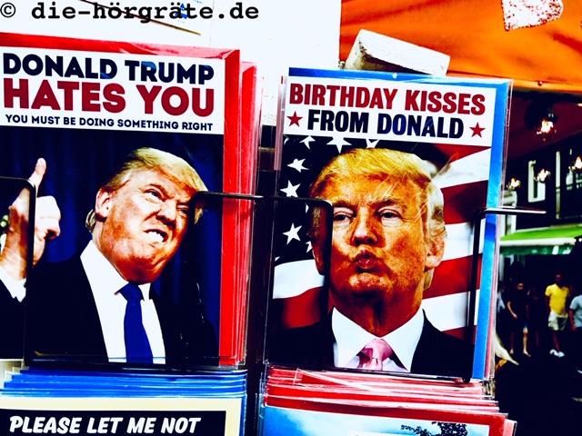 Glückwunschkarten Donald Trump
