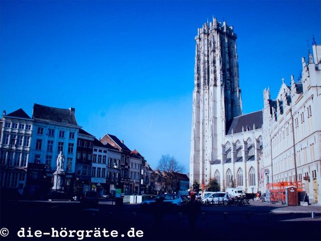 Glockenturm in Mechelen - zum Beitrag über das Glockenspiel von Mechelen